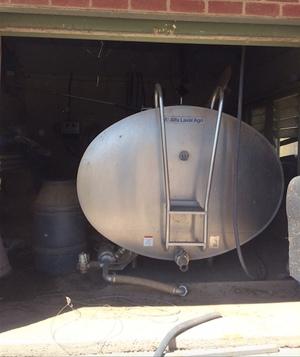 Alfa Laval milk vat for sale 7500 litre