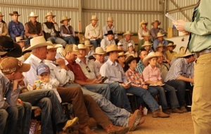 Dangerfield Santa Gertrudis Bull to $57,500