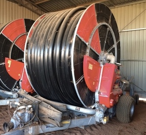 Large Hard Hose Irrigator that is Fairly New Wanted