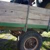 Handmade Wooden Trailer For Sale