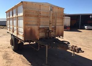 Howard Porter single axle trailer