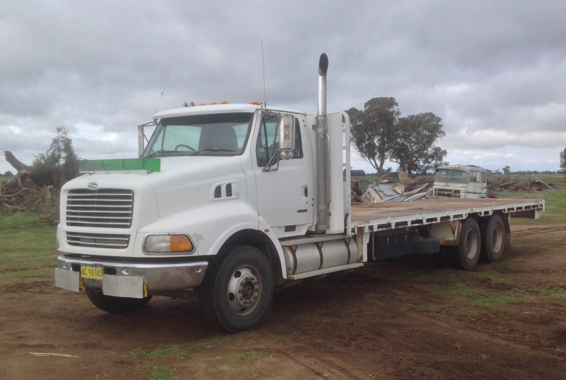Sterling 1999 Model Tray Truck For Sale Top Nick Trucks