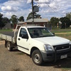 HOLDEN RODEO DIESEL 2004 plated UTE
