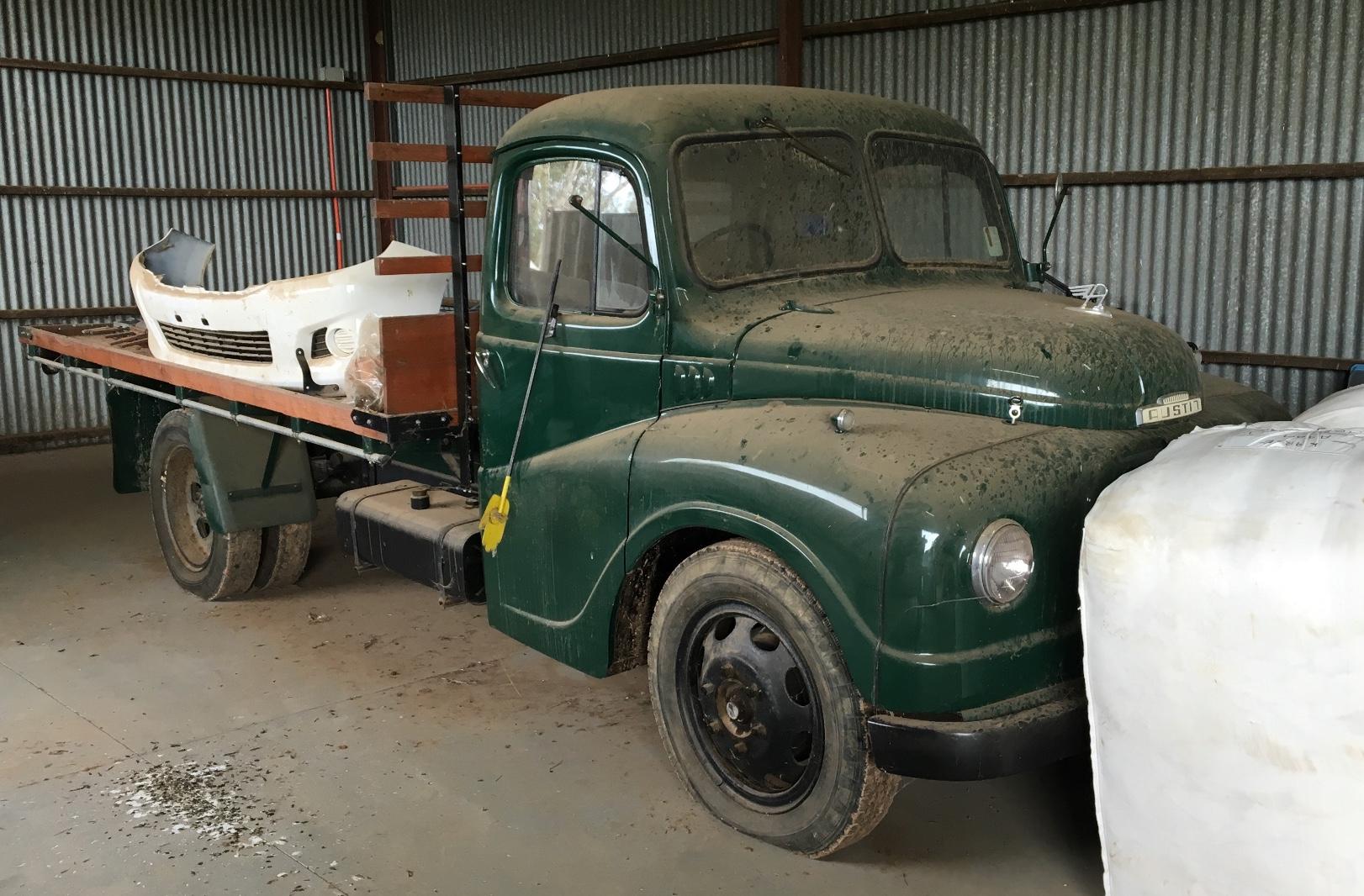 1952 austin truck for sale fully restored trucks farm tender. Black Bedroom Furniture Sets. Home Design Ideas