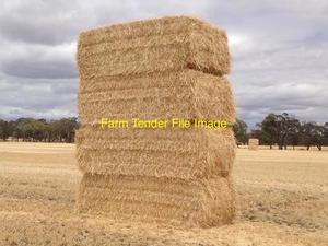 1 x Single New Season Header Trail Barley Straw Wanted Ex Farm - No rain