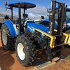 New Holland T4.75 Open Cab Tractor with Fork Lift