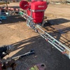 400 Litre Silvan 3 PL Boomspray/hose reel  as new