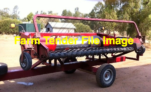 """Canola Pickup Front to suit Case 8120 Header """"WANTED to Buy or Hire"""""""