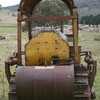 CATERPILLAR D4 BULLDOZER BLADE AND TREE PUSHER NEEDS SOME TLC