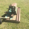 Kaye Finishing Mower 6' Wide 4 Disc with Twin Roller ##PRICED REDUCED##