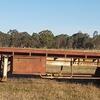 40ft bogie tril hay trailer
