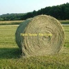 5x4 round bales of clover and rye hay