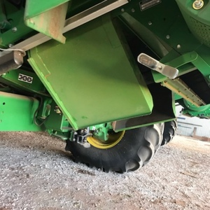 John deere windrow chutes