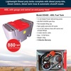 400 Litre High quality poly diesel fuel tank