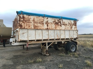 Gravel Tipper Grouper tipper with Division wall, Grain Tipper
