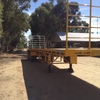 45' Krueger Flat Top Trailer For Sale