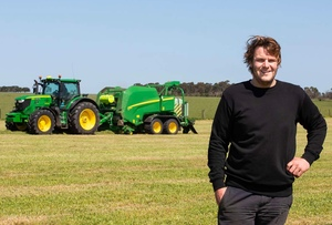 Silage demand pushes Haymes Contracting into buying their 21st John Deere Baler