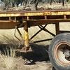 40ft boggie  tri farm/hay trailer
