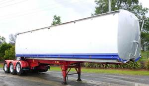 2008 Byford B/Double Tippers with sliding A trailer RT lead