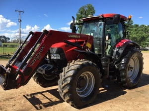 Case Puma 155 FWA fully optioned,  Loader, Autosteer