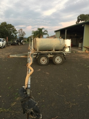 40 ft Trailing Boom Sprayer