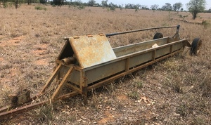 Water Cattle Trough Tow Behind
