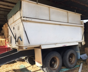Hamelex White Pig 2 Axle Tipper Trailer For Sale