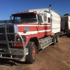 1987 FORD LTL Truck and 3 Axle Dog Trailer For Sale - with CAT !