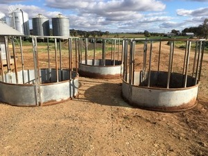 Under Auction - 3 Hay Rings - 2% Buyers Premium on all Lots