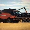 Case 8010 header AFS Header with 39ft 2052 Draper Front