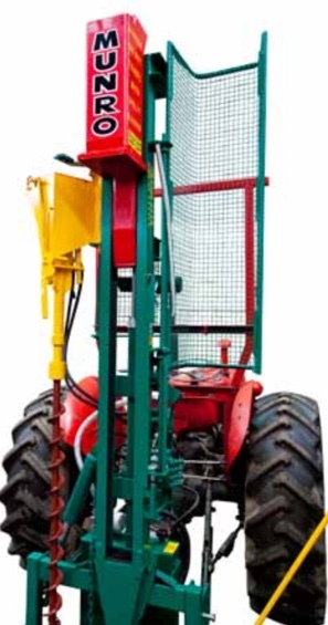 """PM's SAVE ON MUNRO POST DRIVER RANGES (STANDARD MULTISETT PRICED with 6"""" and 8"""" Augers"""