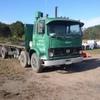 Volvo twin steer hay truck