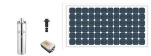 PUMPMAN Submersible Solar Pump 2.4-140 | 2400 L/hr | Max 140m Head | 72V