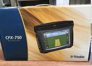 Trimble CFX750 used for in store demo