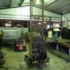 Hydraulic Wool bale lifter.