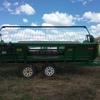 John Deere 615p canola pickup front