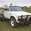 Toyota Hilux 18R 4x4 petrol Ute 1982