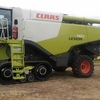 2014 Claas 760 Header with 40ft 2014 MacDon D65 Front ##PRICE REDUCTION##