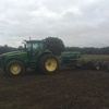 John Deere 7720 and Ryan airseeder