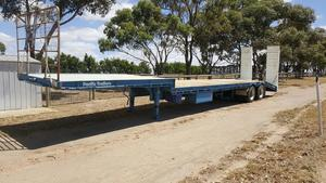 2010 45' Drop Deck Trailer Pacific Trailers