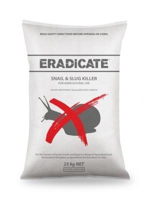 Eradicate Snail & Slug Bait 25kg