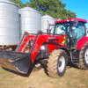 2012 Case Maxxum 110 Tractor with Front End Loader