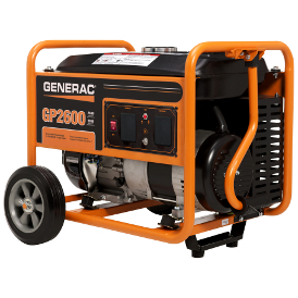 GENERAC GP2600 PORTABLE GENERATOR- Eng. in USA