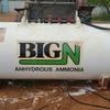 ANHYDROUS AMMONIA TANK - 2.7 tonne capacity, Year of Manufacture 1995, Good sound condition