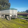 1990 Hamilex Tipping Dog Trailer
