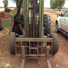 John Deere 1750 2WD Tractor with Post Driver