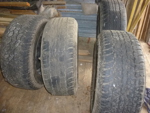 Under Auction - 2011 Toyota Landcruiser Wheels and Tyres - 2% Buyers Premium on all Lots