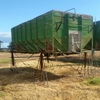 Flat top grain bins for sale