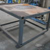 Mobile Steel Work Bench approx 1200mm x 1200mm x 850mm