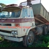 Bogie Drive Tip Truck With Gravel Body For Farm Use Only.